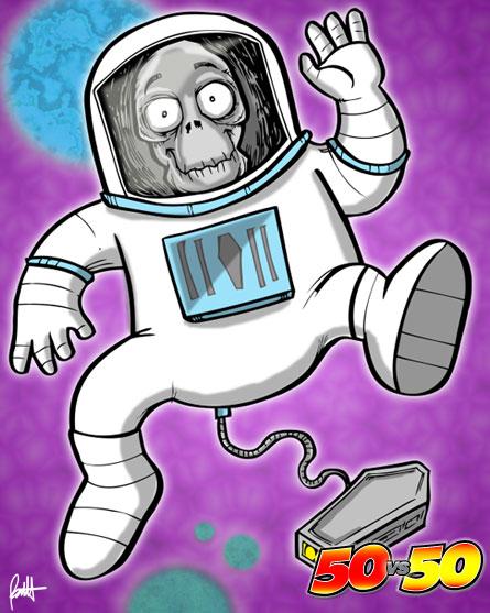 Dead Astronaut Man