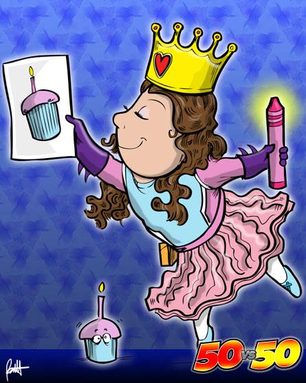 Princess Hero Chick