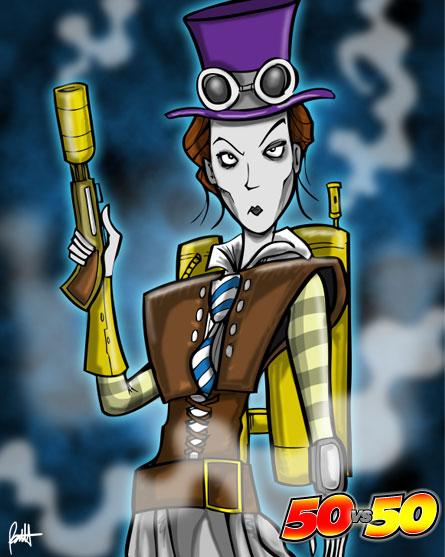 Lady Steam