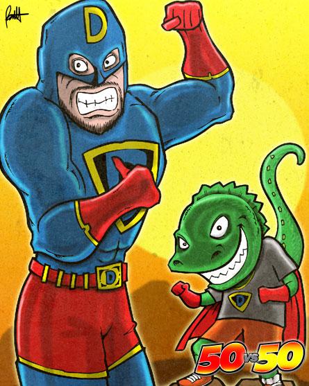 Super Dada & Dino Boy Duo
